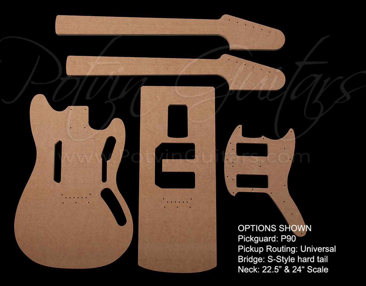 Mustang© template set