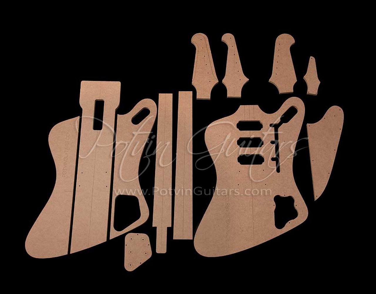 FB-Style Set-neck template Set