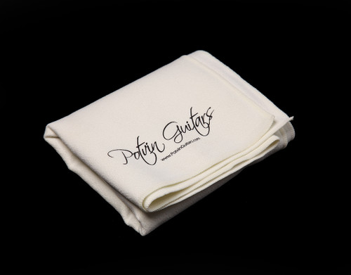 Potvin Guitars polishing cloth