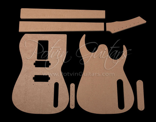 RG-Style 7 String Template Set