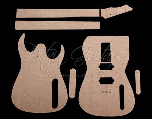 RG Style 6 String Template Set