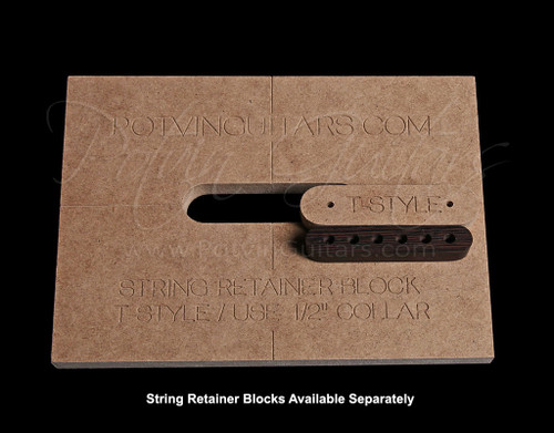String Retainer Block Template
