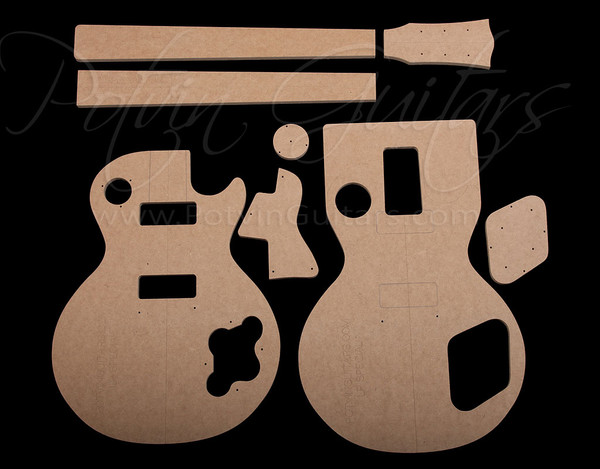 lp special template set potvin guitars