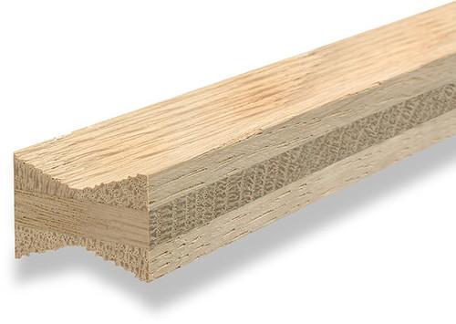 Hardwood Dovetail Key, W4, Three Ply Oak