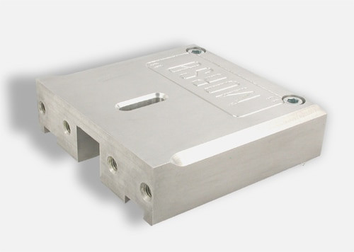 N0827  Adjustable center fence block for MORSO notching machines
