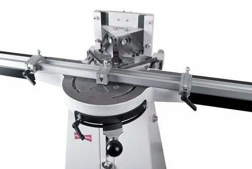 N0076 - Morso NM manual face frame notching machine - close up, by Hoffmann-USA.com