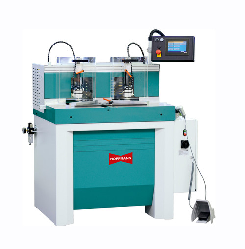 Picture Framing Production Dovetail Joining Machines Hoffmann