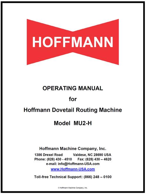 MU2-H Manual
