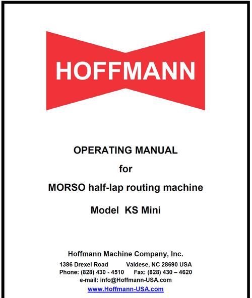 KS Mini Manual