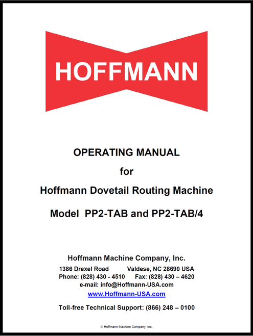 PP2-TAB Manual Cover