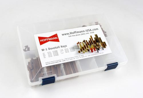 Hoffmann W-1 Dovetail Key Sample Case, closed