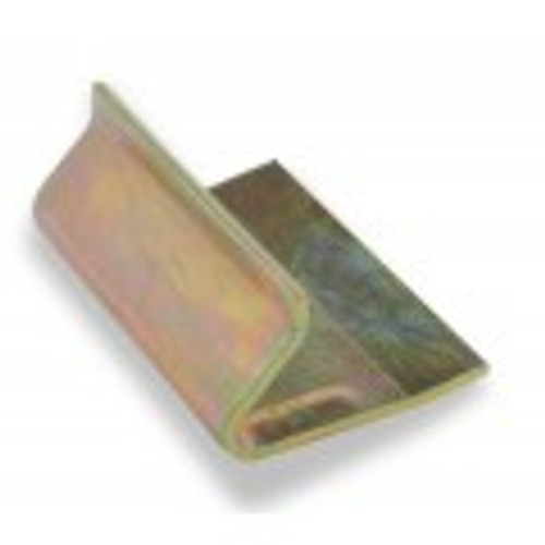 Solid steel adjustment plate with yellow-chromate finish.