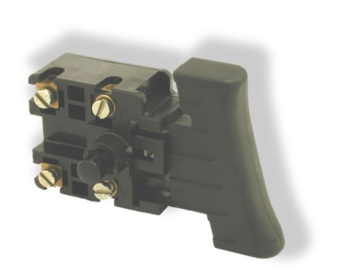 Power switch with safety lock feature, only for BH-556 model.