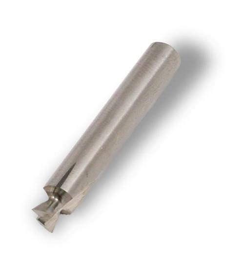 "Hoffmann W-1 Dovetail Router Bit, 1/4"" shank, solid carbide"