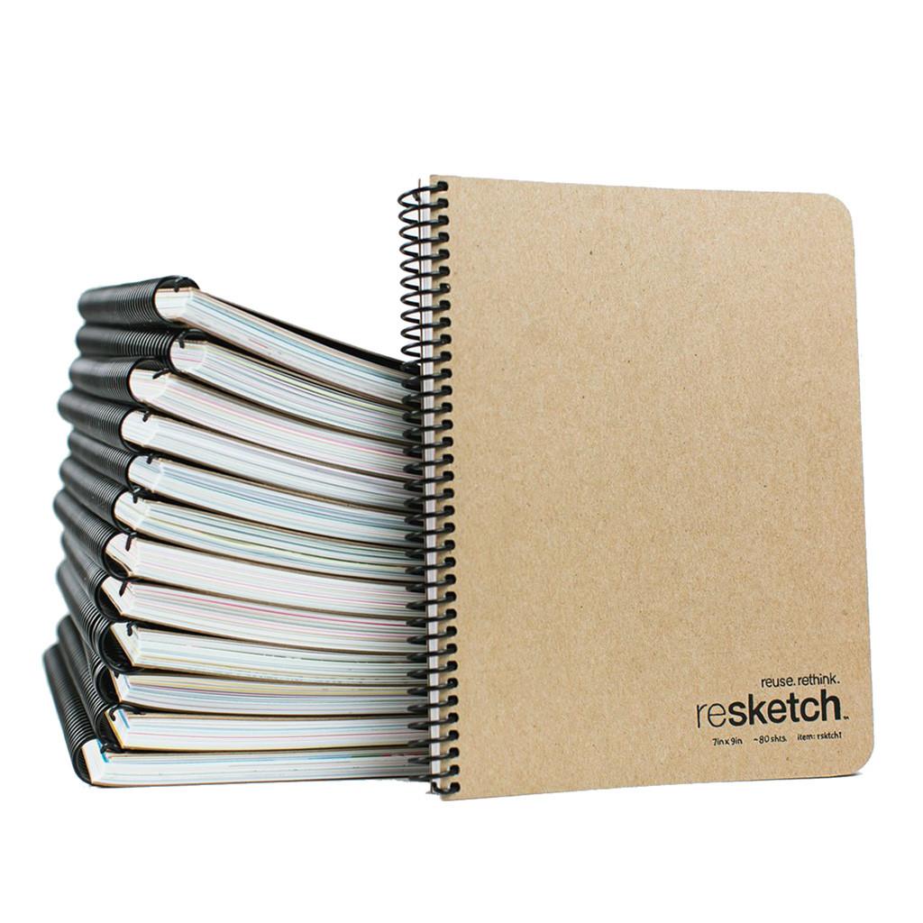 Resketch: The Reclaimed Paper Sketchbook