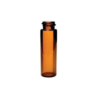 12mL Amber Screw Top Sample Storage Vial