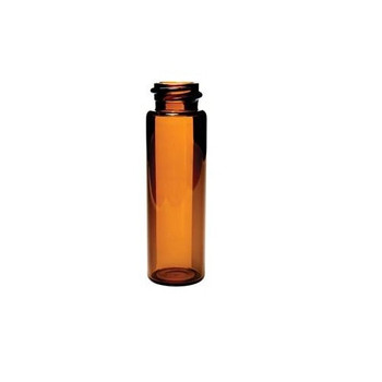 16mL Amber Screw Top Sample Storage Vial