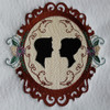 Machine Embroidery Designs - Vintage Wedding Collection of 6