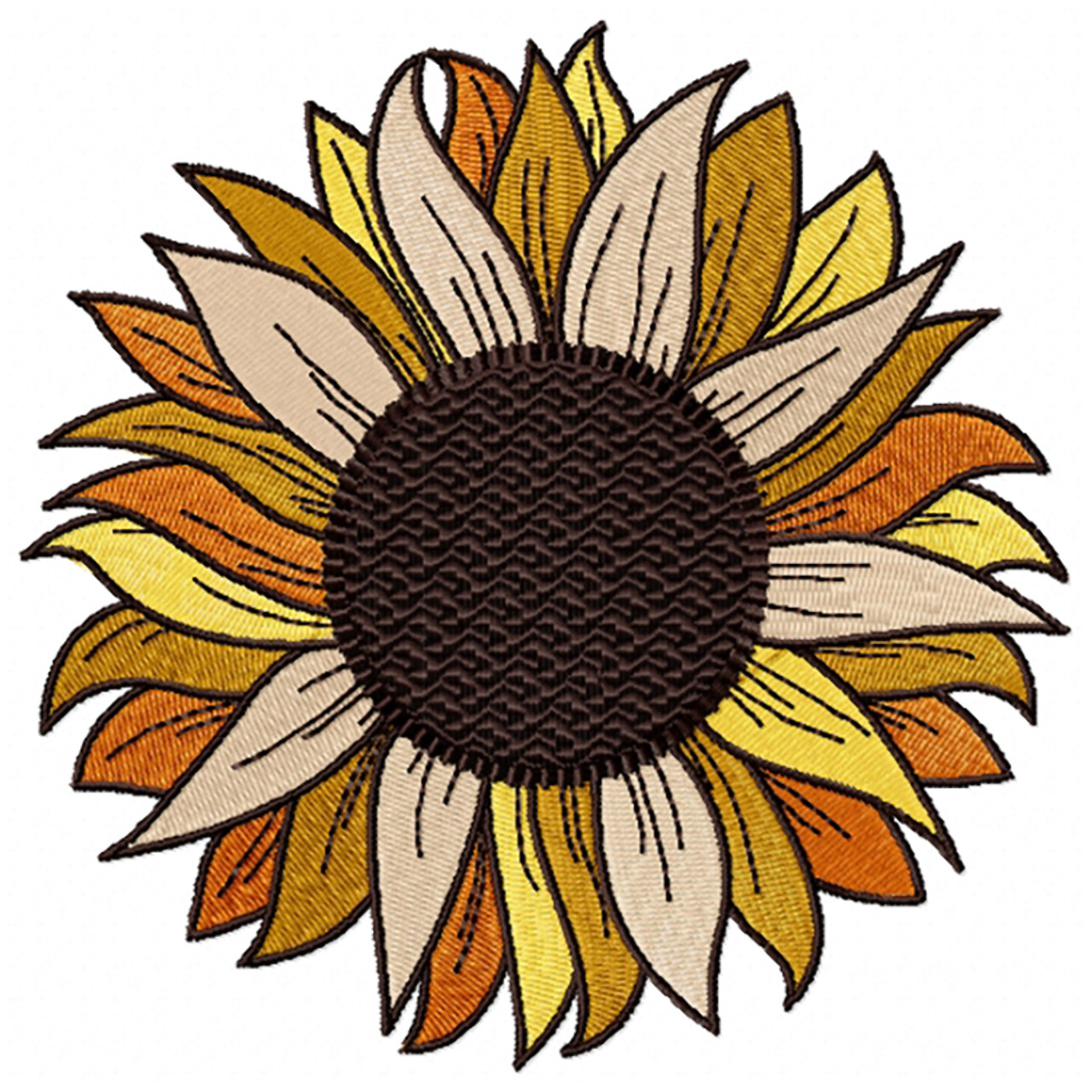 Detailed Sunflower Full Collection 01
