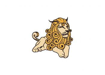 Lion Machine Embroidery Design