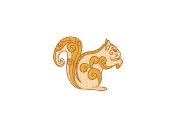 Squirrel Machine Embroidery Design
