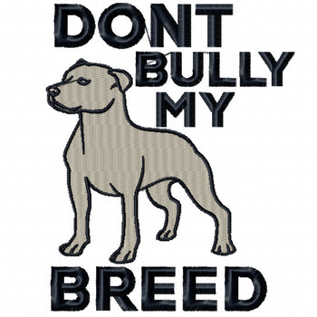 Pit Bull #04 Machine Embroidery Design
