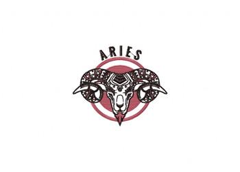 Aries Machine Embroidery Design