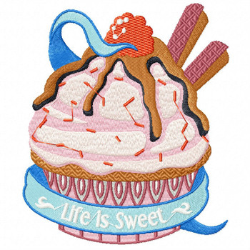Life is Sweet - Baking Hobby Collection #03 - Machine Embroidery Design