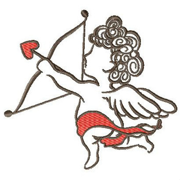 Cupid Collection #04 - Machine Embroidery Design