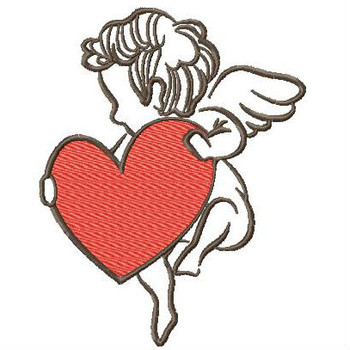 Cupid Collection #05 - Machine Embroidery Design