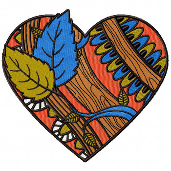 Nature Lovers - Love For Hobby Collection #02 Machine Embroidery Design