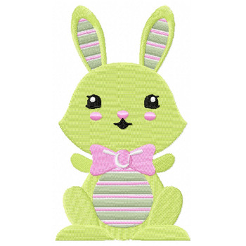 Easter Bunnies Collection #04 Machine Embroidery Design