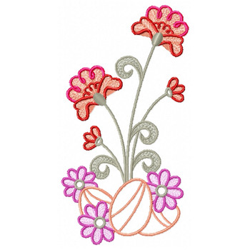 Spring Easter Collection #03 Machine Embroidery Design