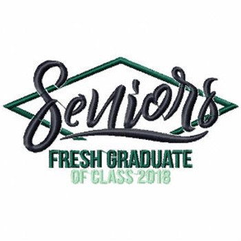 Senior Graduation Collection #05 Machine Embroidery Design