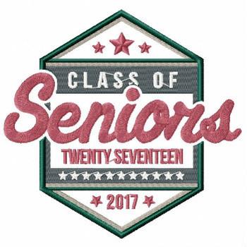 Senior Graduation Collection #07 Machine Embroidery Design