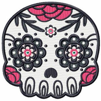 Sugar Skull Collection #01 Machine Embroidery Design