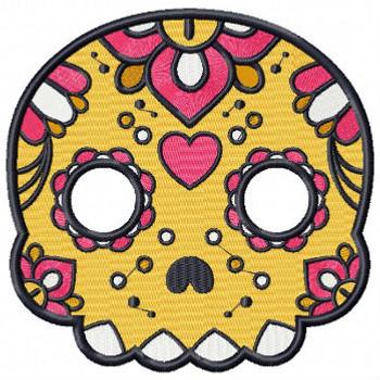 Sugar Skull Collection #02 Machine Embroidery Design