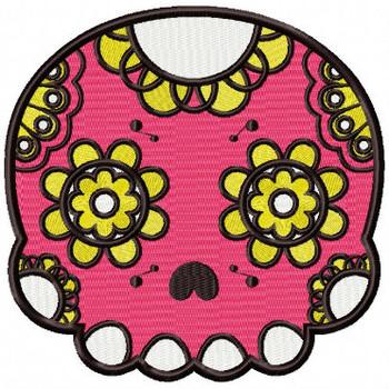 Sugar Skull Collection #03 Machine Embroidery Design