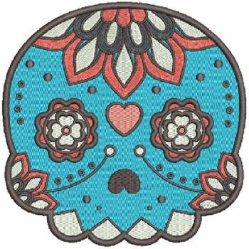 Sugar Skull Collection #04 Machine Embroidery Design
