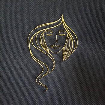 Eyeshadow Modern Ladies #5 Machine Embroidery Designs