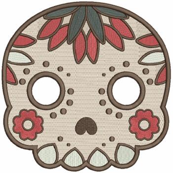 Sugar Skull Collection #08 Machine Embroidery Design