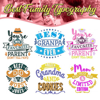 Best Family Typography Full Collection