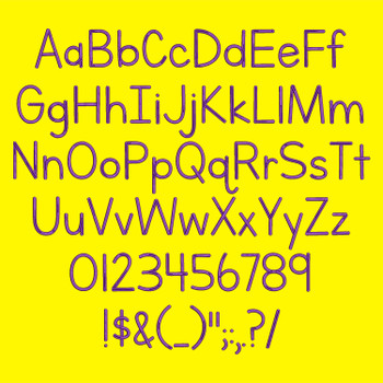 Letters For Learners Embroidery Font_FullAlpha