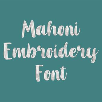 Mahoni Embroidery Font_ProdPic