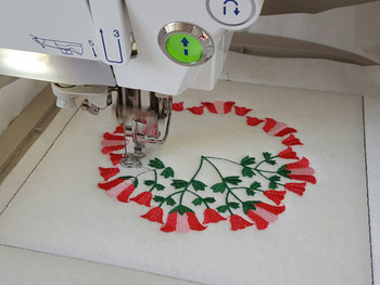 Tulip - Circle of Flowers Collection #05 Machine Embroidery Design