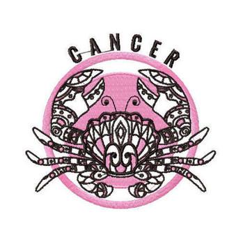 Cancer - Zodiac Collection #03 Machine Embroidery Design