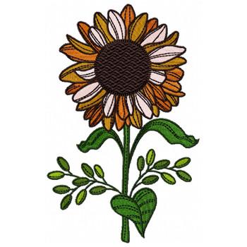 Detailed Sunflower #02