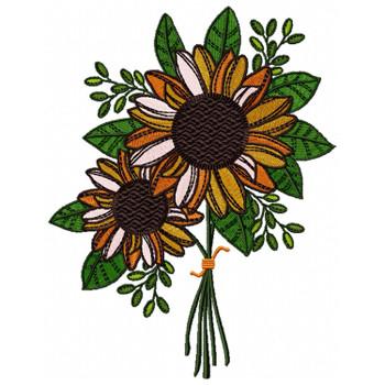Detailed Sunflower #04