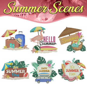 Summer Scenes Full Collection