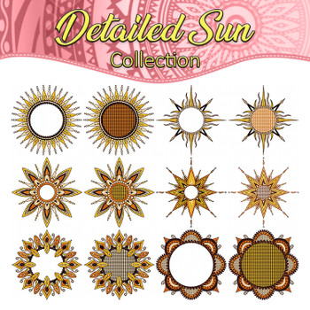 Detailed Sun Collection
